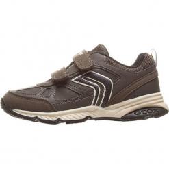 """Sneakersy """"Bernie"""" w kolorze szaro-czarnym. Czarne trampki chłopięce geox kids, z gumy. W wyprzedaży za 125,95 zł."""