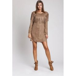Sukienki: Khaki Sukienka West South Side