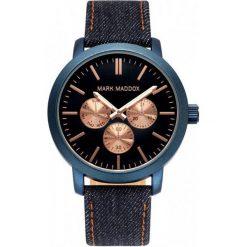 Mark Maddox Zegarek hc3025-37. Czarne zegarki męskie Mark Maddox. W wyprzedaży za 269,00 zł.
