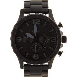 Zegarek FOSSIL - Nate JR1401 Black/Black. Czarne zegarki męskie Fossil, ze stali. Za 719,00 zł.