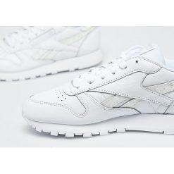 Reebok Classic - Buty Cl Lthr. Szare buty sportowe damskie reebok classic marki Reebok Classic, z materiału. W wyprzedaży za 329,90 zł.