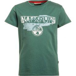 T-shirty chłopięce: Napapijri SHADOW  Tshirt z nadrukiem dark green