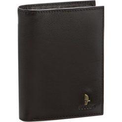 Duży Portfel Męski PUCCINI - 7825 Black. Czarne portfele męskie marki Puccini, ze skóry. W wyprzedaży za 119,00 zł.