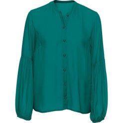 Bluzki damskie: Bluzka bonprix niebieskozielony