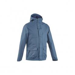 Kurtka turystyczna Arpenaz 400 męska. Szare kurtki męskie marki Burton Menswear London, m, z materiału. Za 129,99 zł.