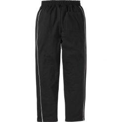 Spodnie dresowe męskie: Spodnie dresowe bonprix czarny