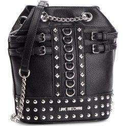 Torebka LOVE MOSCHINO - JC4315PP06KV0000 Nero. Czarne torebki klasyczne damskie marki Love Moschino, ze skóry ekologicznej. Za 839,00 zł.