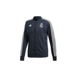 Bluzy dresowe adidas  Bluza Real Madrid Polyester. Czarne bluzy dresowe męskie marki Cropp, l, z nadrukiem. Za 249,00 zł.