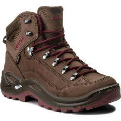 Trekkingi LOWA - Renegade Gtx Mid Ws GORE-TEX 320945 Espresso/Beere. Brązowe buty trekkingowe damskie Lowa. W wyprzedaży za 729,00 zł.