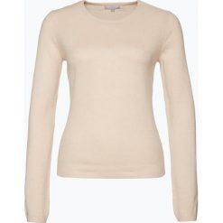 Swetry damskie: Marie Lund – Sweter damski z czystego kaszmiru, pomarańczowy