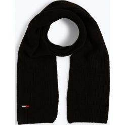 Tommy Jeans - Szalik damski, czarny. Czarne szaliki damskie Tommy Jeans, z dzianiny. Za 229,95 zł.