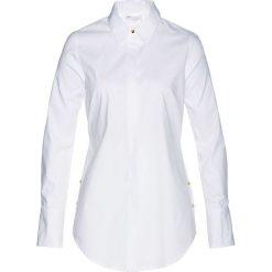 Długa bluzka bonprix biały. Białe bluzki longsleeves marki bonprix. Za 99,99 zł.
