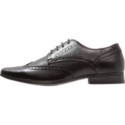 Buty wizytowe męskie: Burton Menswear London JASPER BROGUE Eleganckie buty black