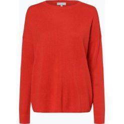 Marie Lund - Sweter damski z czystego kaszmiru, pomarańczowy. Brązowe swetry klasyczne damskie Marie Lund, s, z dzianiny. Za 449,95 zł.