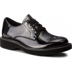 Półbuty CALVIN KLEIN JEANS - Ace S1288 Black. Czarne derby męskie Calvin Klein Jeans, z jeansu. Za 769,00 zł.