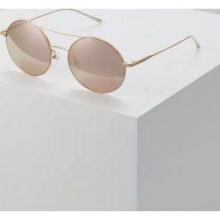 Okulary przeciwsłoneczne damskie: Calvin Klein Okulary przeciwsłoneczne rose gold