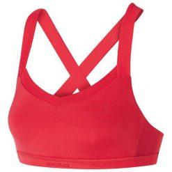 Odlo Biustonosz Bra Medium Support Bra Top czerwony r. S. Czerwone biustonosze sportowe marki Odlo. Za 63,04 zł.