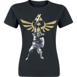 The Legend Of Zelda Logo Koszulka damska czarny. Czarne bluzki asymetryczne The Legend Of Zelda, s. Za 42,90 zł.