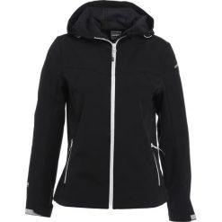 Icepeak LUCY Kurtka Softshell black. Czarne kurtki damskie Icepeak, z elastanu. W wyprzedaży za 179,40 zł.