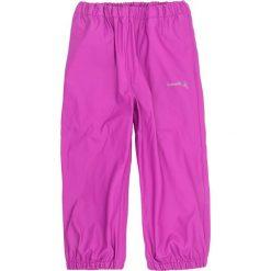 Spodnie niemowlęce: Spodnie przeciwdeszczowe w kolorze fioletowym