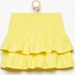 Spódnica z falbanami - Żółty. Żółte spódniczki dziewczęce Reserved. W wyprzedaży za 9,99 zł.