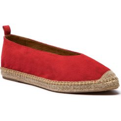 Espadryle KANNA - KV8039 Ante Coral. Czerwone tomsy damskie Kanna, z materiału, na płaskiej podeszwie. W wyprzedaży za 199,00 zł.