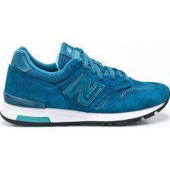 New Balance - Buty WL565STT. Czerwone buty sportowe damskie marki New Balance, z gumy. W wyprzedaży za 249,90 zł.
