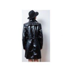Płaszcze damskie pastelowe: PŁASZCZ#CZARNY