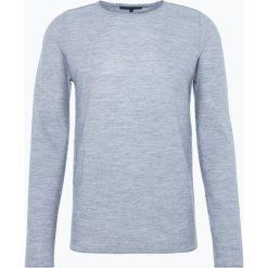 Drykorn - Sweter męski – Rik, szary. Niebieskie swetry klasyczne męskie marki DRYKORN, m, z dekoltem karo. Za 449,95 zł.