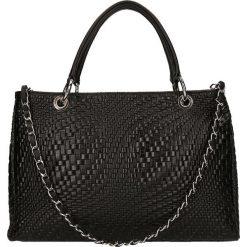 """Torebki klasyczne damskie: Skórzana torebka """"St. Germain"""" w kolorze czarnym – 33,5 x 25 x 14 cm"""
