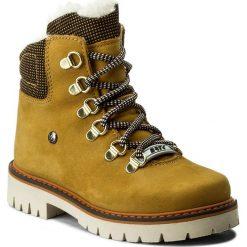 Trapery BARTEK - 24764-2/1DY Żółty. Żółte buty zimowe chłopięce marki Bartek, z materiału. W wyprzedaży za 199,00 zł.