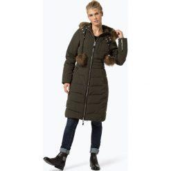 Płaszcze damskie: Khujo – Damski płaszcz pikowany, zielony