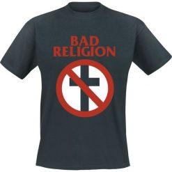 Bad Religion Cross Buster T-Shirt czarny. Czarne t-shirty męskie Bad Religion, m, z napisami, z klasycznym kołnierzykiem. Za 74,90 zł.