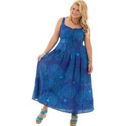 Odzież damska: Sukienka w kolorze niebieskim