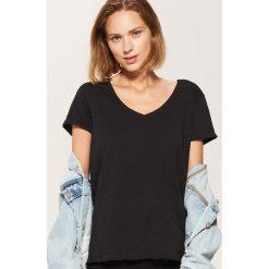 T-shirt basic - Czarny. Czarne t-shirty męskie House, l. Za 19,99 zł.