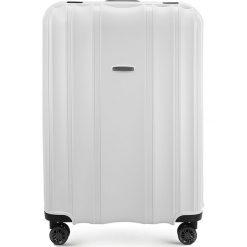 Walizka duża 56-3T-733-88. Białe walizki Wittchen, duże. Za 279,00 zł.