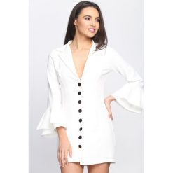 Sukienki: Biała Sukienka Let Me Love You