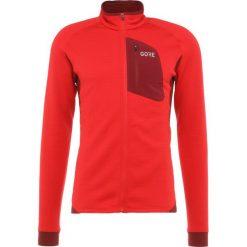 Gore Wear THERMO Kurtka z polaru red/chestnut red. Czerwone kurtki trekkingowe męskie Gore Wear, m, z elastanu. Za 589,00 zł.