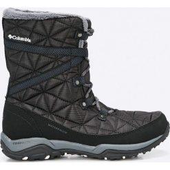 Columbia - Śniegowce Loveland Mid. Czarne śniegowce damskie Columbia, z gumy. W wyprzedaży za 399,90 zł.