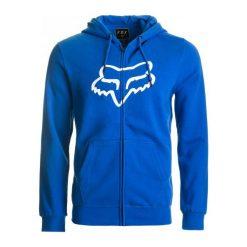 FOX Bluza Męska Legacy Foxhead Zip Xxl Niebieski. Niebieskie bluzy męskie rozpinane FOX, m. Za 305,00 zł.