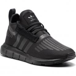 Buty adidas - Swift Run Barrier B42233 Cblack/Cblack/Cblack. Czarne halówki męskie Adidas, z materiału. Za 399,00 zł.