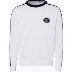 Lacoste - Sweter męski, czarny. Szare swetry klasyczne męskie marki Lacoste, z bawełny. Za 449,95 zł.