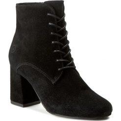 Botki BRONX - 33884-C BX 995 Black 01. Czarne buty zimowe damskie marki Bronx, z materiału. W wyprzedaży za 299,00 zł.
