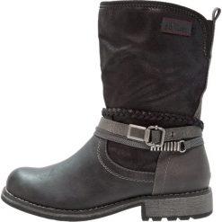 S.Oliver RED LABEL Kowbojki i Buty motocyklowe black. Czarne buty zimowe damskie marki s.Oliver RED LABEL, z materiału. W wyprzedaży za 164,45 zł.
