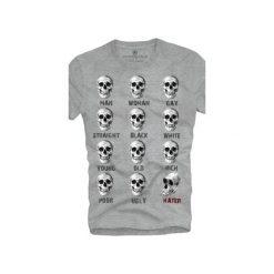 T-shirt UNDERWORLD Ring spun cotton Heater. Szare t-shirty męskie z nadrukiem marki Underworld, m, z bawełny. Za 59,99 zł.