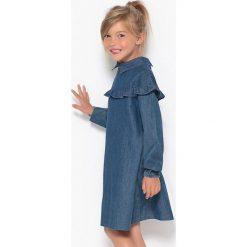 Sukienki dziewczęce: Sukienka z denimu z falbanką 3-12 lat