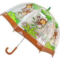 """Parasole: Parasol """"Monkey"""" w kolorze jasnobrązowo-zielonym"""