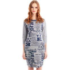 Sukienki balowe: Sukienka – 18-001 GRIGIO