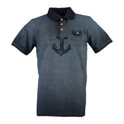 """T-shirty chłopięce z krótkim rękawem: Koszulka polo """"Kuspomme"""" w kolorze granatowym"""
