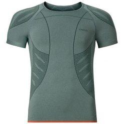 Odlo Koszulka s/s crew neck EVOLUTION LIGHT r.L zielona (181072). Zielone t-shirty męskie Odlo, l. Za 169,95 zł.